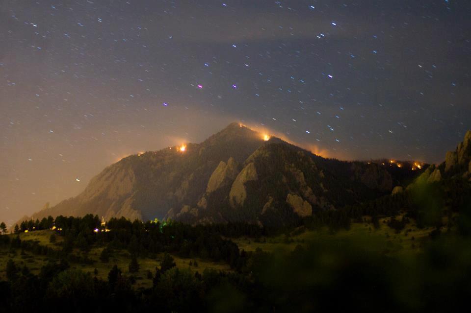 Bear Peak in flames | Flagstaff Fire | Boulder | June 26, 2012