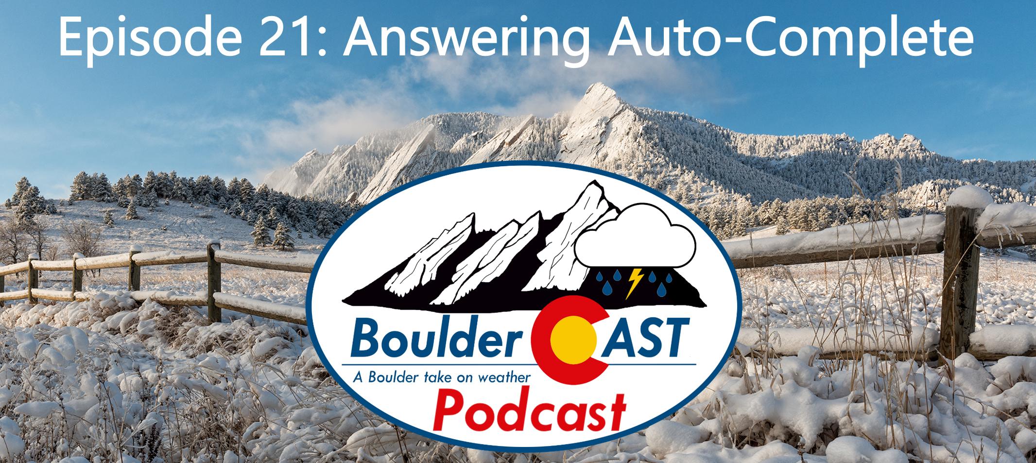 Airbnb Boulder Episode 21 Answering Auto Complete Bouldercast