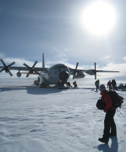 c130Arrival