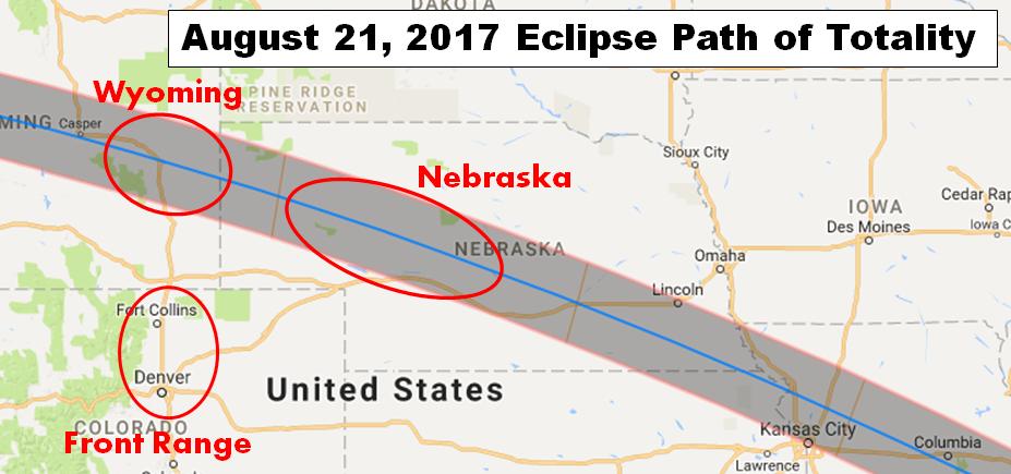 The Evolving Eclipse Forecast Colorado Wyoming Or Nebraska