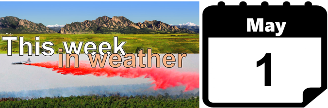 This Week In Weather May 1 2016 Bouldercast